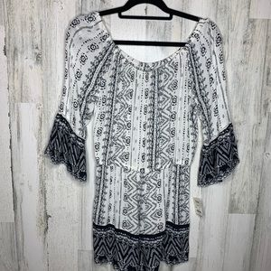 Mudd Romper NEW WITH TAGS Small